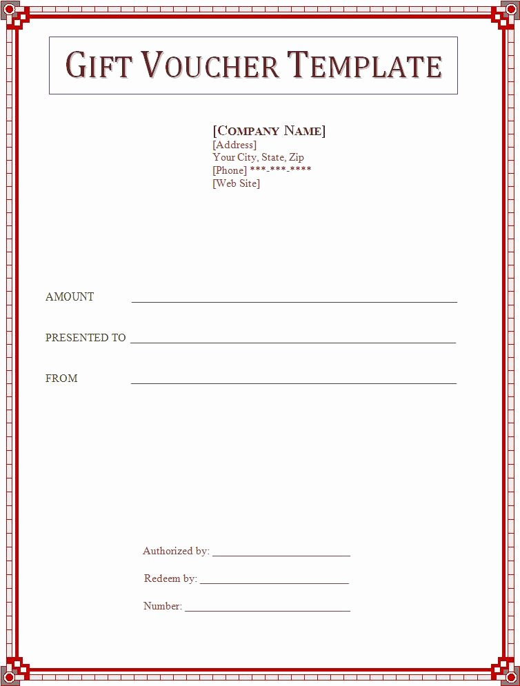 Wording for Gift Certificates Beautiful Voucher Templates