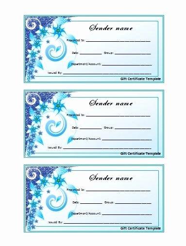 Wording for Gift Certificates Elegant Wording for A T Certificate T Certificate Voucher