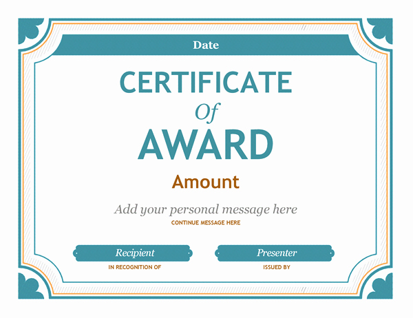 Wording for Gift Certificates Inspirational Certificates Fice