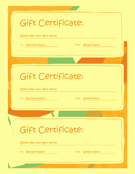 Wording for Gift Certificates Luxury Gift Certificate Template Word 2013 Free Certificate