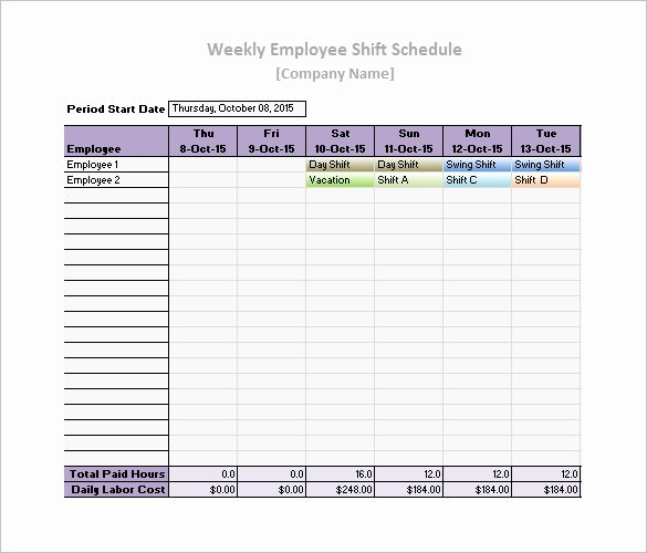 Work Plan Template Excel Awesome 17 Daily Work Schedule Templates & Samples Doc Pdf
