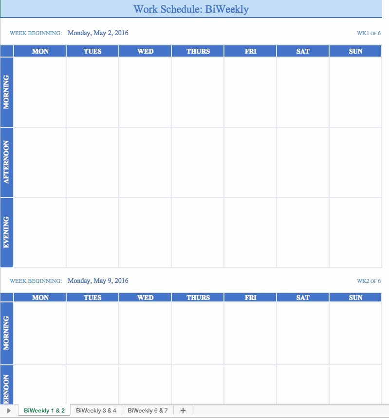 Work Plan Template Excel Beautiful Free Work Schedule Templates for Word and Excel