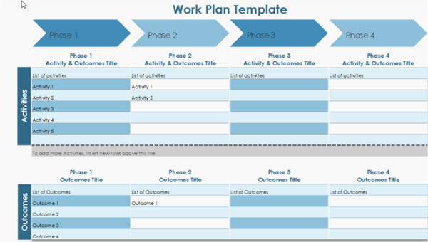 Work Plan Template Excel Best Of 10 Useful Free Project Management Templates for Excel