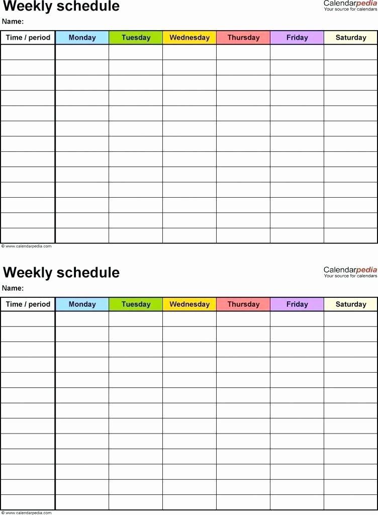 Work Plan Template Excel New Work Schedule Templates Excel
