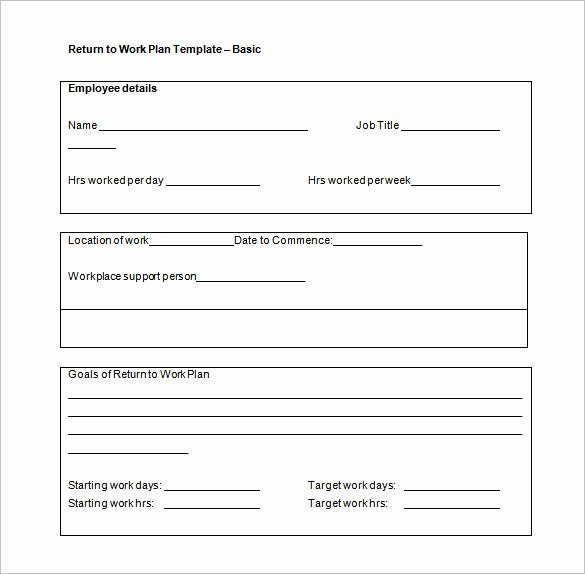 Work Plan Template Word Elegant Work Plan Template 16 Free Word Pdf Documents Download