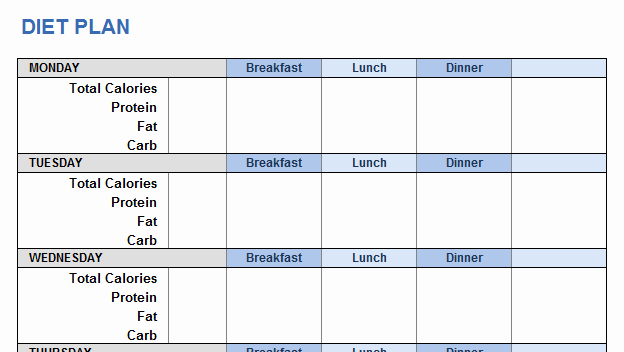 Workout Plan Template Excel Beautiful Weight Training Plan Template for Excel