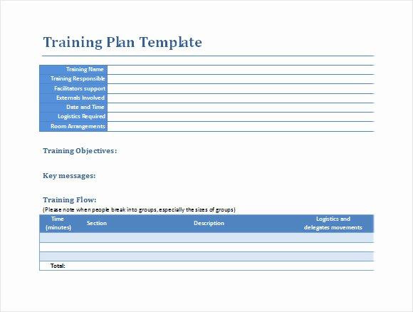 Workout Plan Template Word Lovely Sample Training Plan 12 Example format