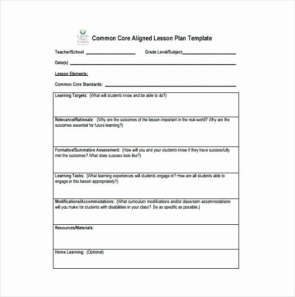 Workshop Model Lesson Plan Template New Learn Model Lesson Plan Template – Learn Lesson Plan