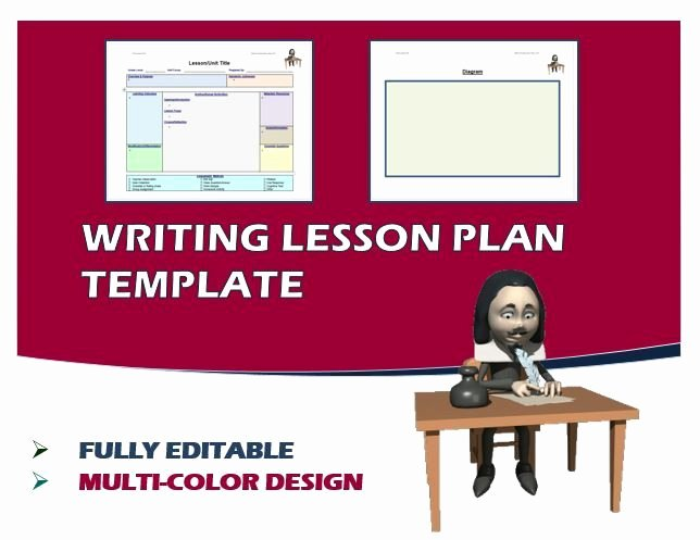 Writing Lesson Plan Template Elegant 17 Best Images About Educational Templates On Pinterest