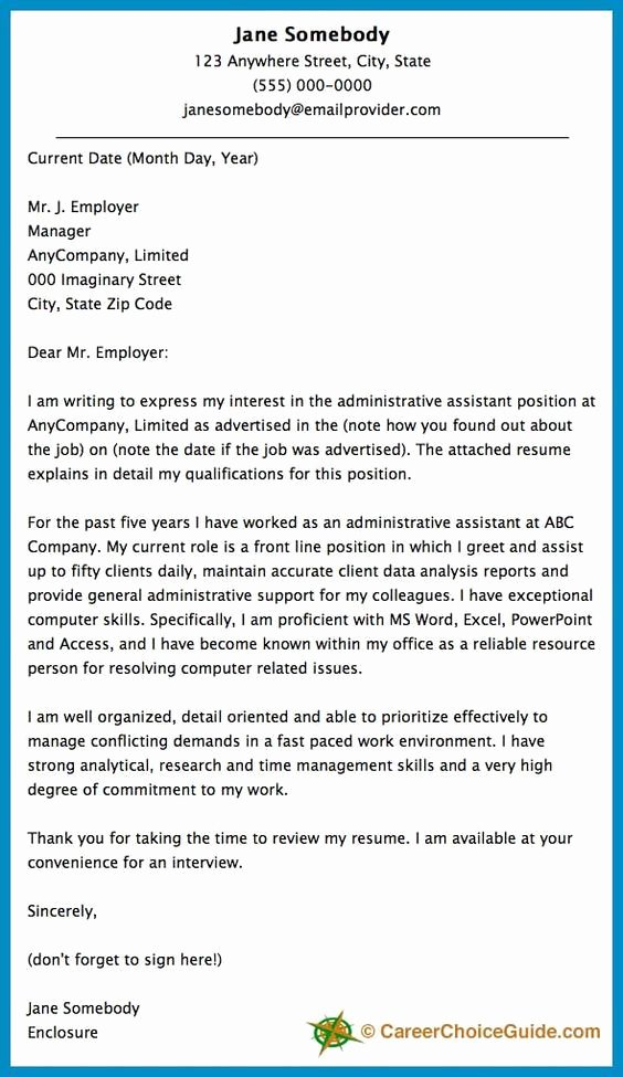 Writing Your Own Recommendation Letter Unique Cover Letter Sample Career & Life Coaching