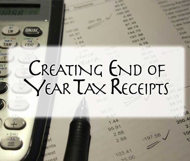 Year End Donation Receipt Template Fresh Creating End Of Year Tax Receipts – Nonprofit Success