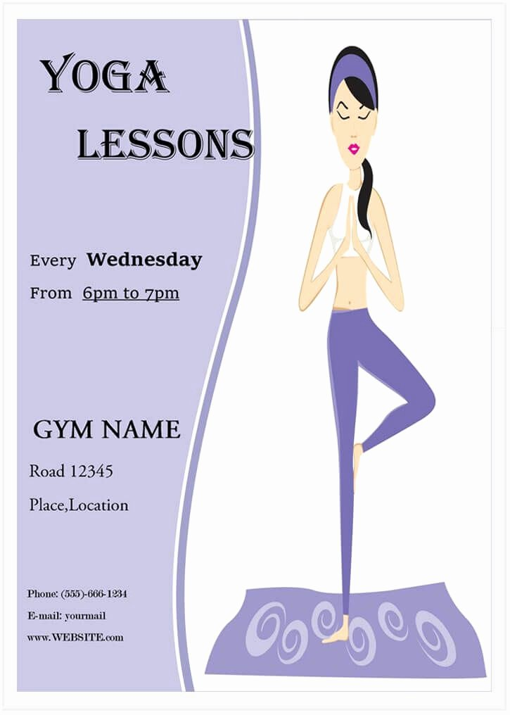 Yoga Lesson Plan Template Elegant 10 Free Yoga Flyer Templates In Psd Ai Eps