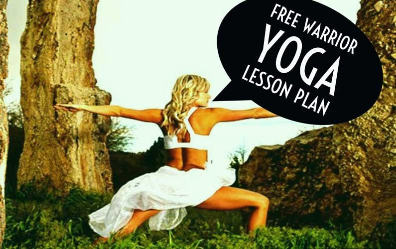 Yoga Lesson Plan Template Fresh Free Downloadable Warrior Yoga Lesson Plan