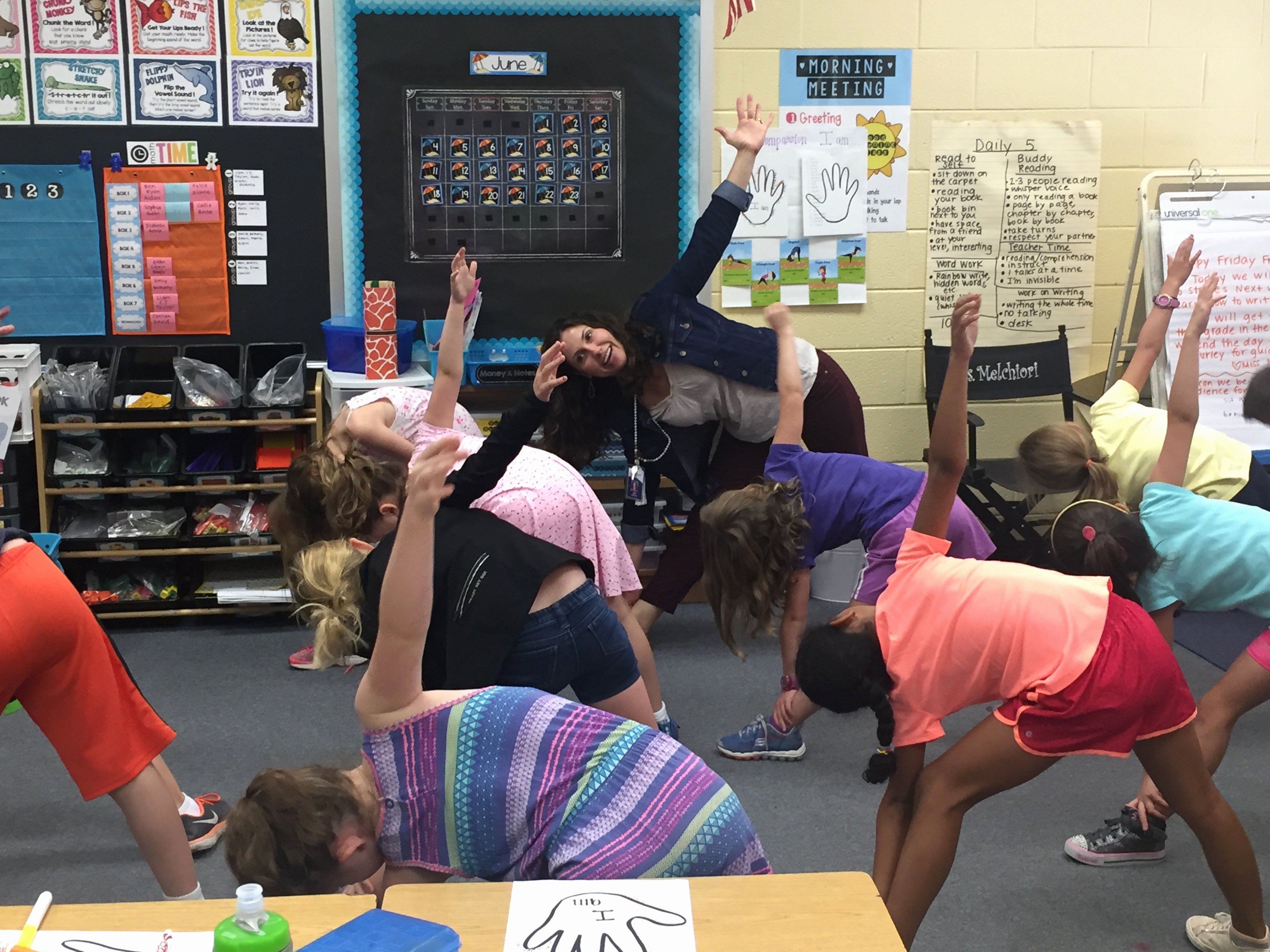 empowering kids yoga lesson plan